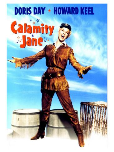 Calamity Jane, 1953 Reproduction d'art