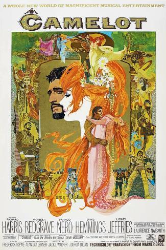 Camelot, 1967 Reproduction procédé giclée