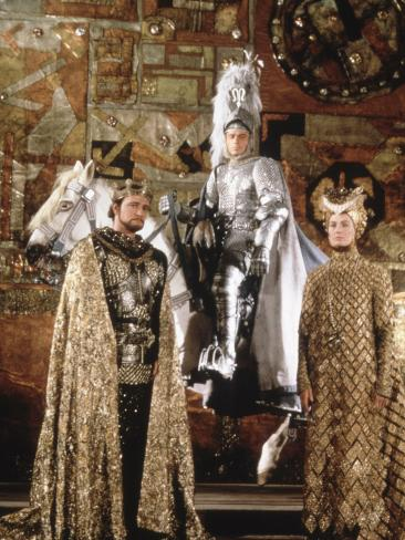 Camelot, Richard Harris, Franco Nero, Vanessa Redgrave, 1967 Photographie