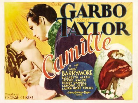 Camille, Greta Garbo, Robert Taylor, Greta Garbo, Robert Taylor, 1936 Reproduction d'art