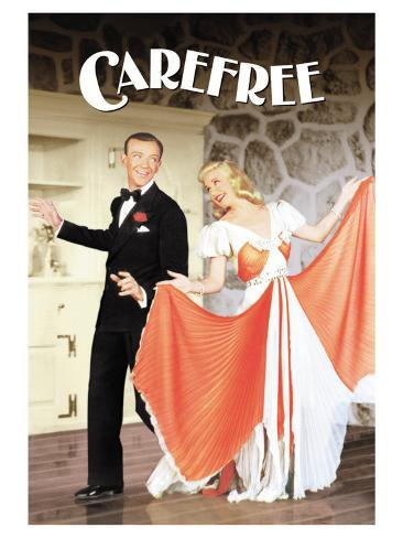 Carefree, 1938 Reproduction d'art