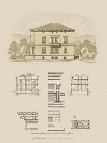 Estate and Plan II Reproduction d'art