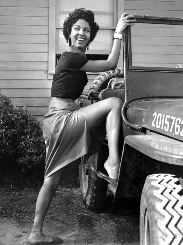 Carmen Jones, Dorothy Dandridge, 1954 Photographie