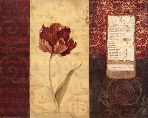 Tulip Montage Reproduction d'art