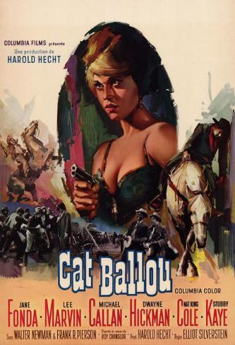 Cat Ballou Affiche originale