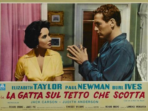 Cat on a Hot Tin Roof, 1958 Reproduction d'art
