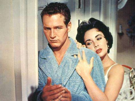 Cat on a Hot Tin Roof, Paul Newman, Elizabeth Taylor, 1958 Photographie