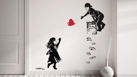 Catch a Heart Autocollant mural