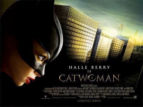 Catwoman (pré-promotion) Affiche édition limitée