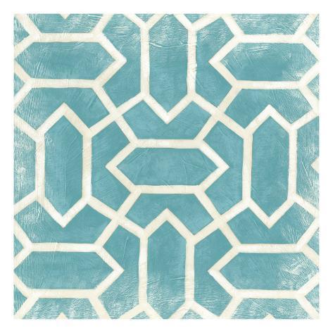 Modern Symmetry V Reproduction d'art