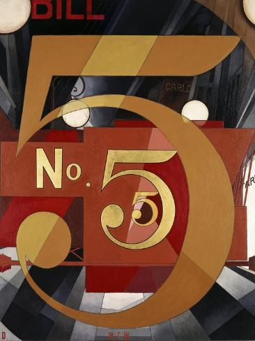 I Saw the Figure 5 in Gold Reproduction procédé giclée