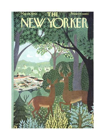 The New Yorker Cover - May 26, 1962 Reproduction giclée Premium