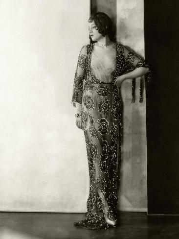 Vanity Fair - August 1926 Reproduction photographique Premium