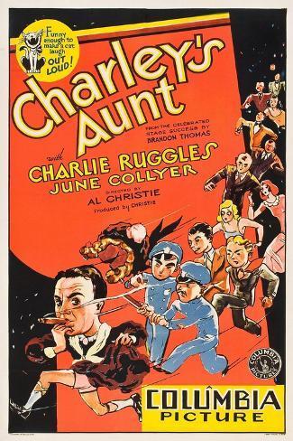 Charleys Aunt, 1930 Reproduction procédé giclée