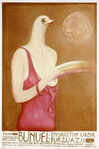 Charme discret de la bourgeoisie, Le|The Discreet Charm of the Bourgeoisie Affiche originale
