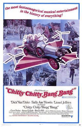 Chitty Chitty Bang Bang Affiche originale