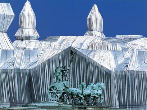 Reichstag mit Quadriga Reproduction photographique