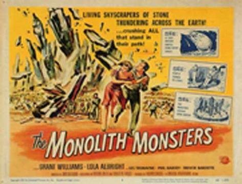 Cité pétrifiée, La|The Monolith Monsters Affiche originale