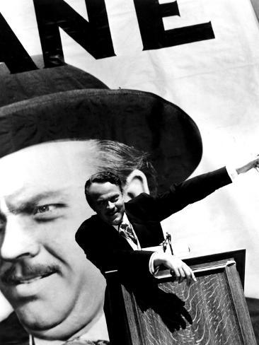 Citizen Kane, Orson Welles, 1941 Photographie