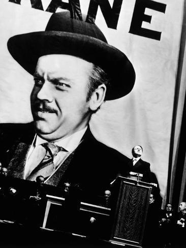 Citizen Kane, Orson Welles, 1941 Photographie