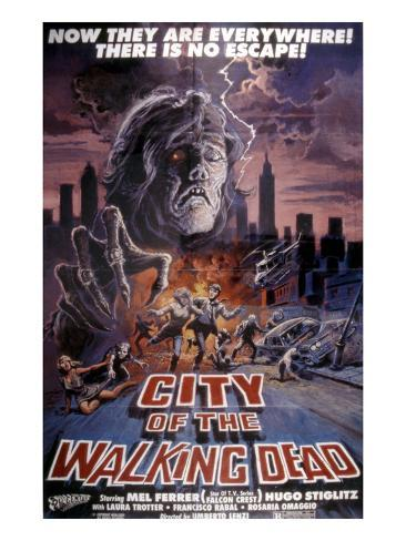 City of the Walking Dead, 1980 Photographie