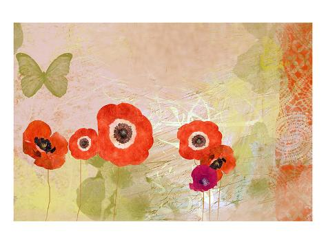 Poppy dance Reproduction d'art