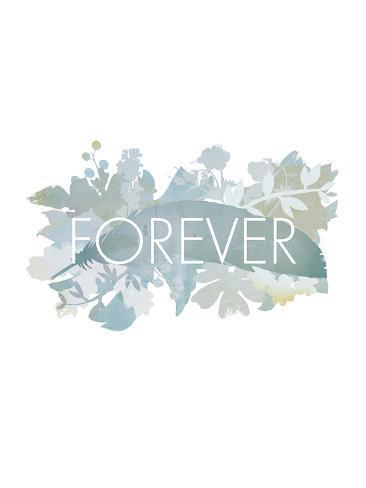 Floral Forever Reproduction procédé giclée