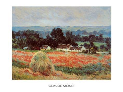 La meule de foin à Giverny Reproduction d'art