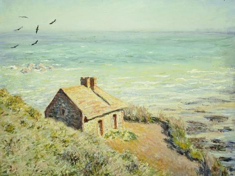 The Customs Hut, Morning, 1882 Reproduction procédé giclée