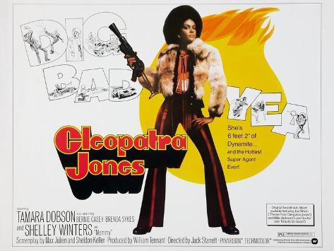 Cleópatra Jones, 1973 Reproduction procédé giclée
