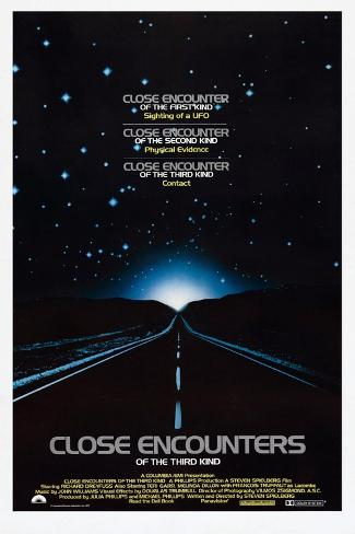 Close Encounters of the Third Kind, 1977 Reproduction procédé giclée