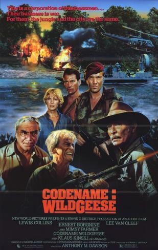 Code Name Wild Geese Affiche originale