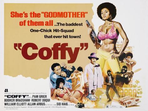 Coffy, 1973 Reproduction procédé giclée