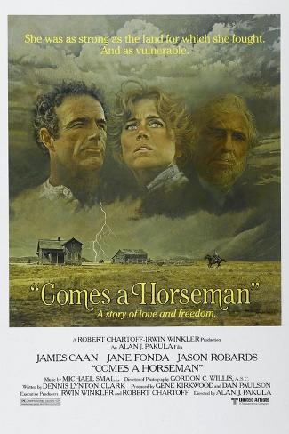 Comes a Horseman, 1978 Reproduction procédé giclée