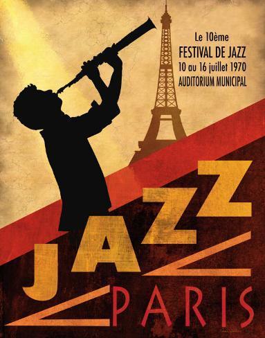 Jazz à Paris, 1970 Reproduction d'art