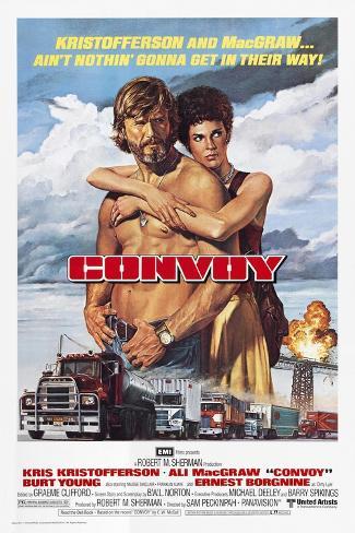 Convoy, 1978 Reproduction procédé giclée