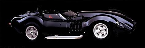 Corvette Lister 327, 1958 Poster