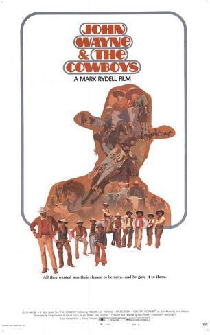 Cowboys Affiche originale