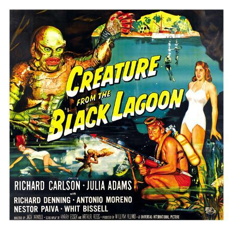 Creature from the Black Lagoon, 1954 Photographie