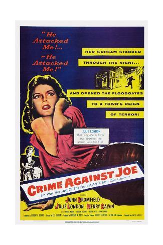 Crime Against Joe Reproduction procédé giclée