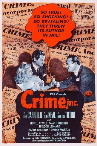 Crime Reproduction d'art