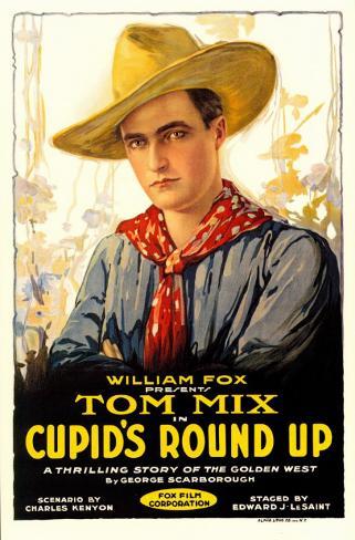 Cupid's Roundup Affiche originale