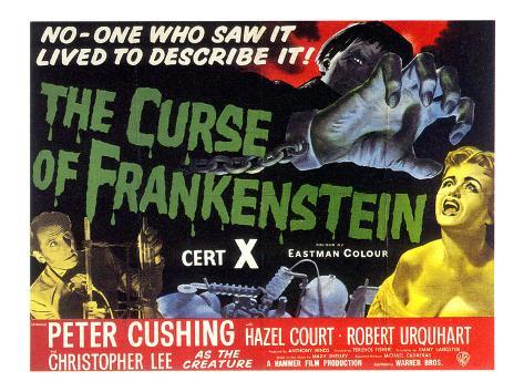 Curse Of Frankenstein, 1957 Photographie