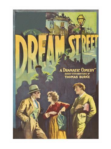 Dream Street Reproduction d'art