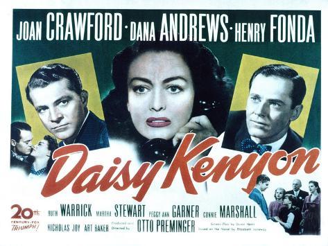 Daisy Kenyon, Dana Andrews, Joan Crawford, Henry Fonda, 1947 Photographie