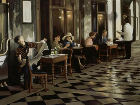 Café Florian Reproduction procédé giclée