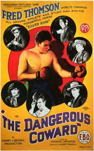 Dangerous Coward Affiche originale
