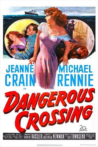 Dangerous Crossing Reproduction d'art