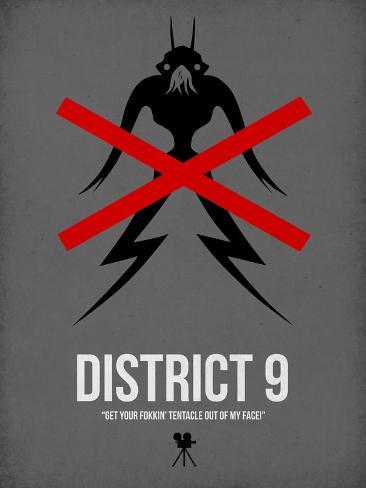 District Reproduction d'art