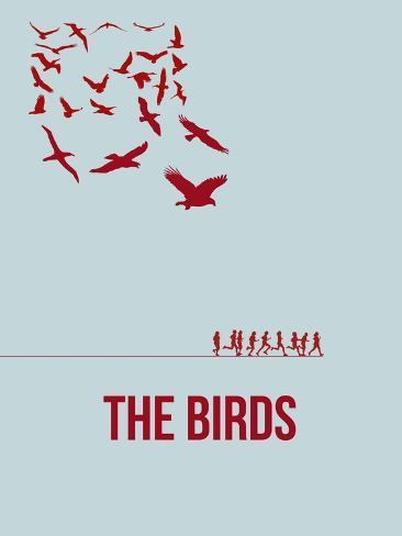 Drôles d'oiseaux sur une ligne à haute tension / For the Birds Reproduction d'art